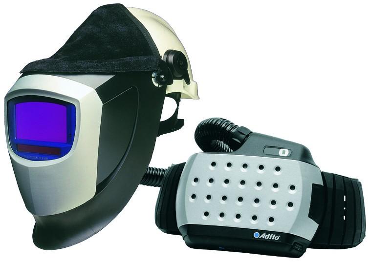 Speedglas 9002V s přilbou Peltor + ADFLO