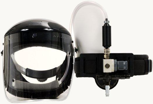 Brusný štít ClearVisor + Fresh-air C, acetátový štít