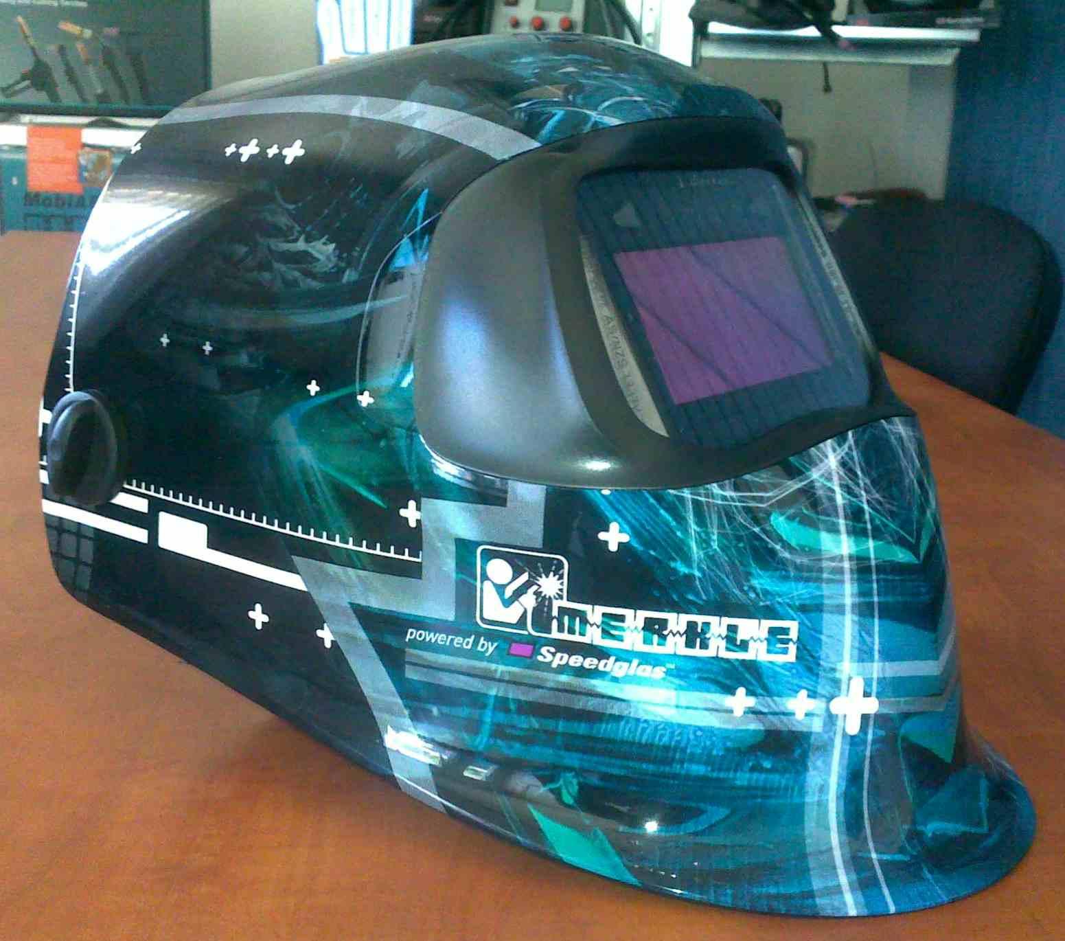 Samozatmívací kukla Speedglas 100V - MERKLE