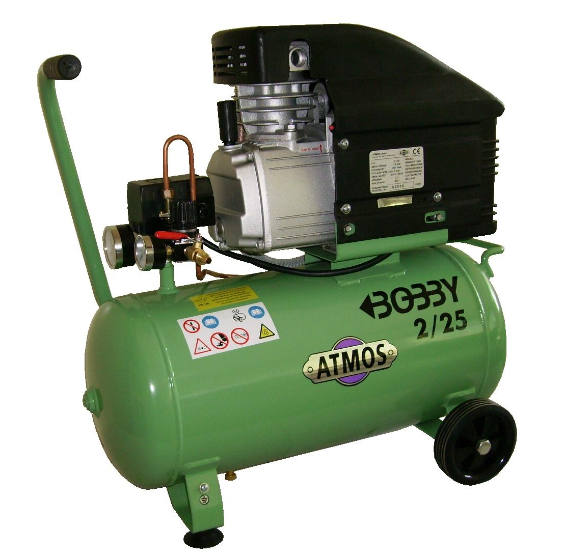 AKCE! Kompresor Atmos Bobby 2/25