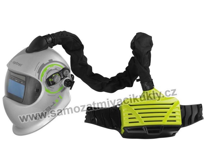 Svařovací kukla Optrel e684 + e3000 green