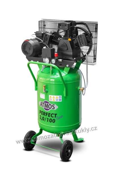 Pístový kompresor Atmos Perfect Line 3/100S AKCE!