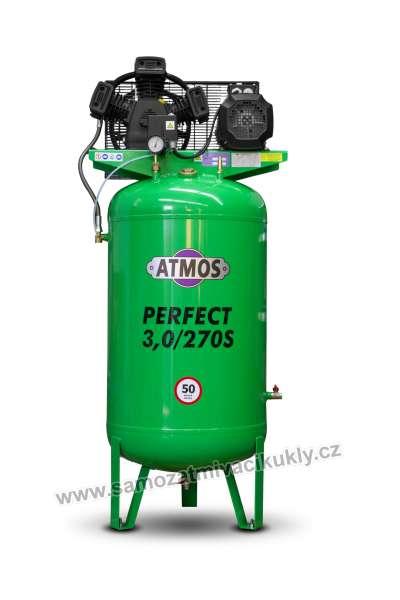 Pístový kompresor Atmos Perfect 3/270S + olej
