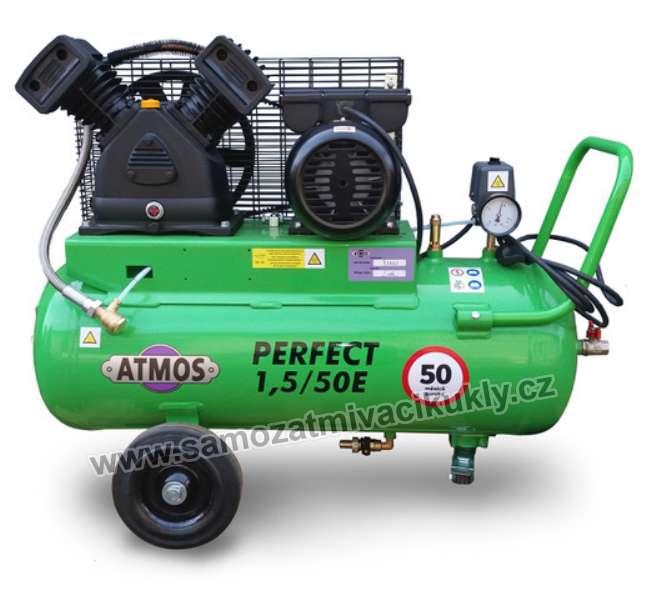 Pístový kompresor Atmos Perfect 1,5/100E + olej